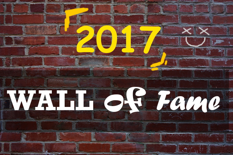 wall of fame 2017